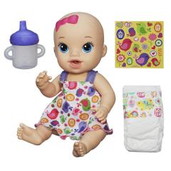 Baby Alive Sips 'n Cuddles Blonde Modern Outfit Doll set