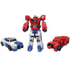 Transformers Robots in Disguise Combiner Force Crash Combiner, Pair of Strongarm and Optimus Prime