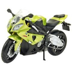 Maisto BMW S1000RR Motorcycle, 1:18 Scale Die Cast Metal