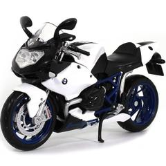 Maisto BMW HP2 Sport Motorcycle, 1:18 Scale Die Cast Metal
