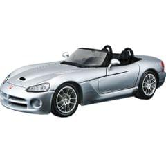 Maisto Metal Kruzerz, 2003 Dodge Viper SRT-10, Grey 1:24 Die-cast Toy Car Model