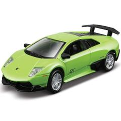 Maisto Power Kruzers, Lamborghini LP 670-4 SV, 4.5 Inch Pull Back, Die Cast Metal Car