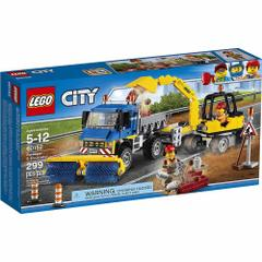 Lego City, Sweeper and Excavator, No 60152