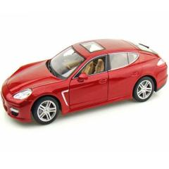 Maisto Porsche Panamera Turbo Premiere Edition, Maroon, 1:18 Scale, Die Cast Metal Car, Collectable Model