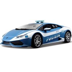 Maisto Lamborghini Huracan LP 610 4 Metal Kruzerz Die Cast Car- Blue And White, 1:24, Die Cast Metal Car