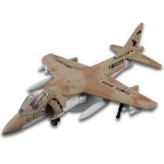 Maisto Fresh Metal Forces Sky Squad AV8B Fighter Jet, Die Cast Collectables