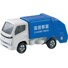 Takara Tomy Tomica Toyota Dyna Refuse Truck, No.45, Scale 1 : 56, Die Cast Metal Car Collectables