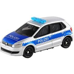 Takara Tomy Tomica Volkswagen Polo Police Car, No.109, Scale 1 : 62, Die Cast Metal Car Collectables