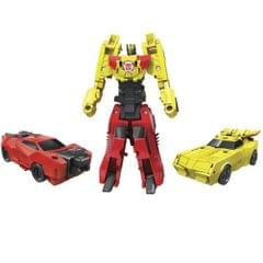 Transformers Robots in Disguise Combiner Force Crash Combiner, Pair of Sideswipe and Bumblebee