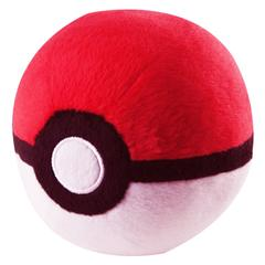 Pokemon Plush Master Pokeball, Red & White