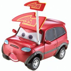 Disney Pixar Cars Timothy Twostroke, Small size Red