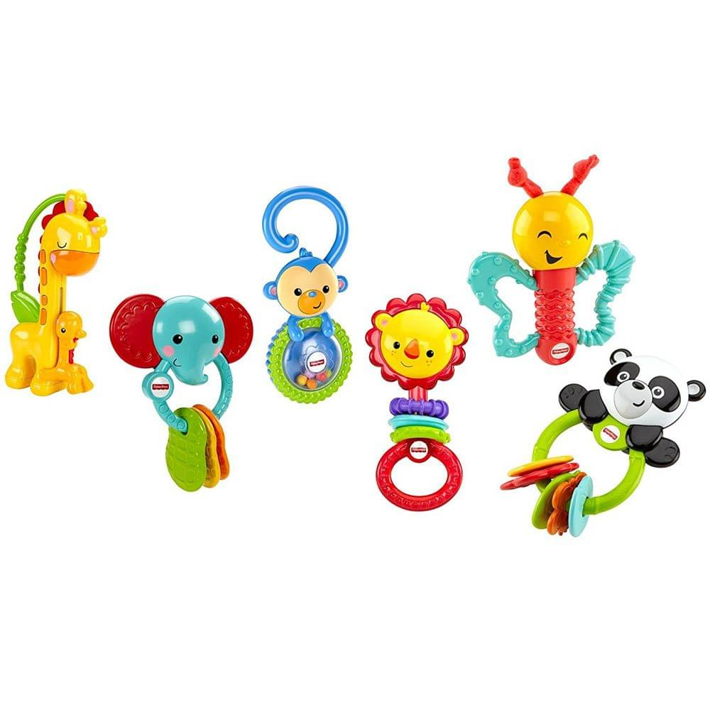 Fisher Price Animal Friends Gift Set, Multi Color