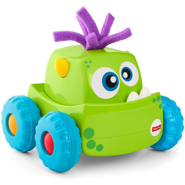 Fisher Price Press 'N Go Monster Truck, Green