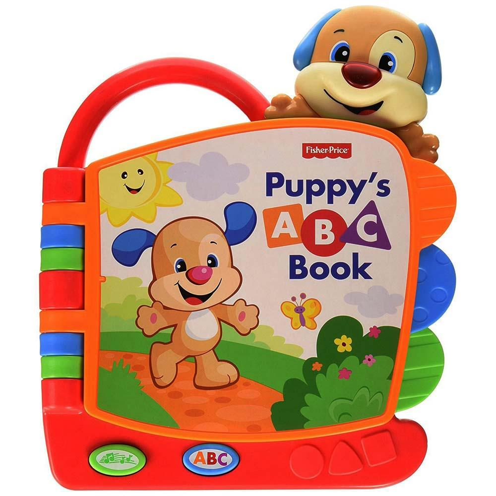 Fisher Price Laugh and Learn Puppy's ABC Book, Multi Color