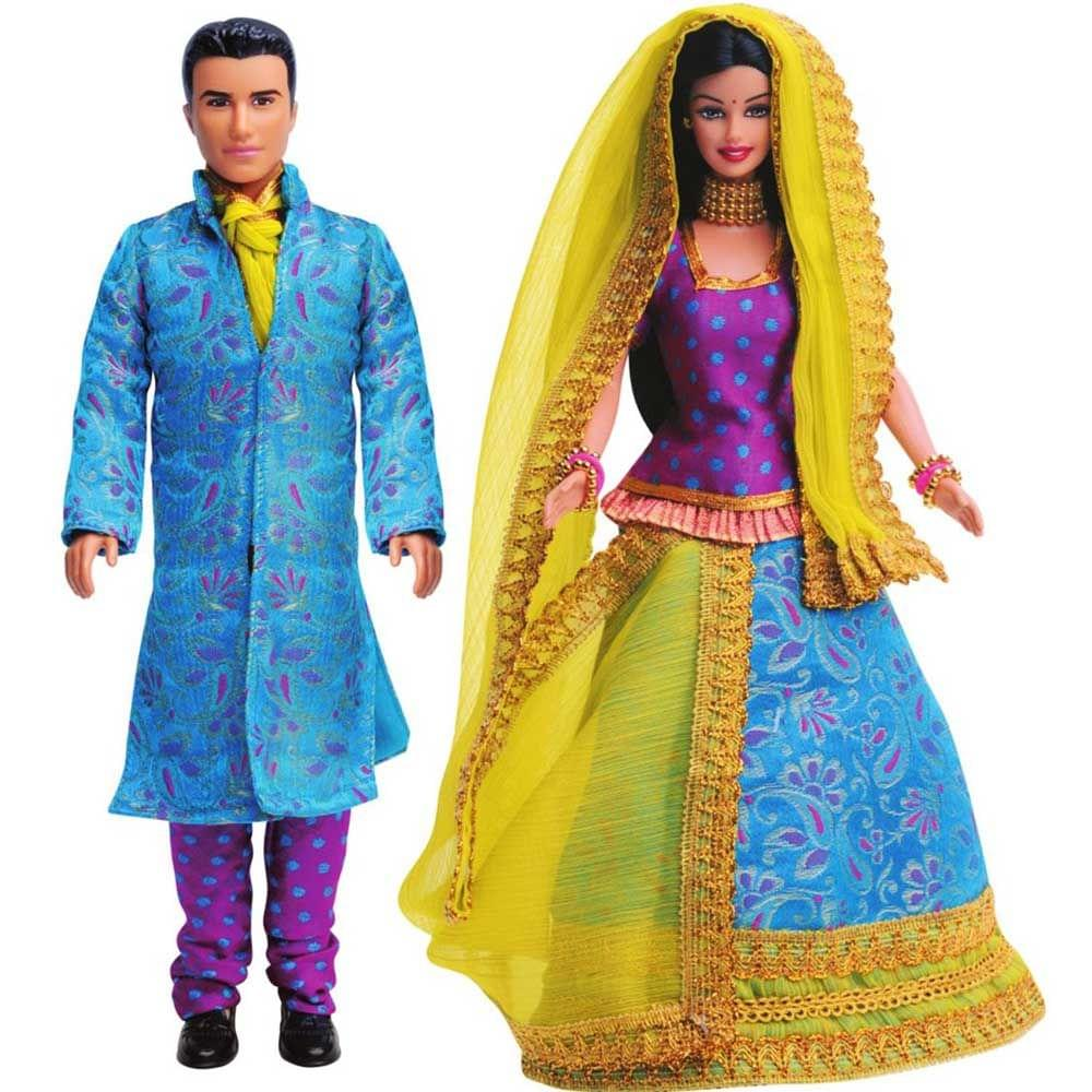 Barbie Barbie and Ken in India, Blue Theme