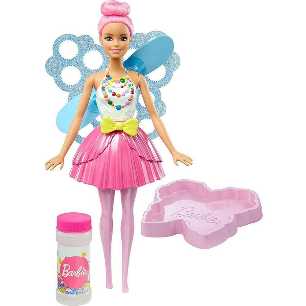 Barbie Dreamtopia Bubbletastic Fairy Doll, Multi Color