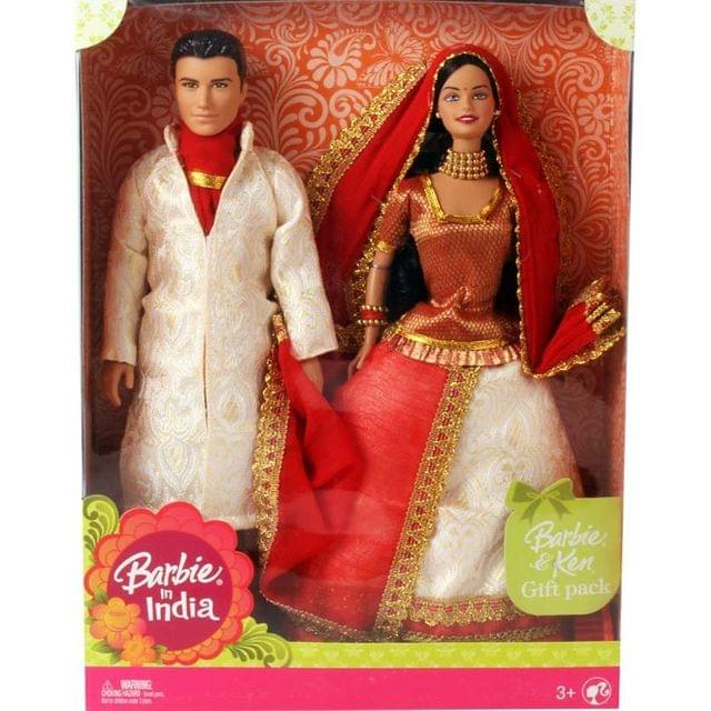 Barbie Barbie and Ken in India, White Theme