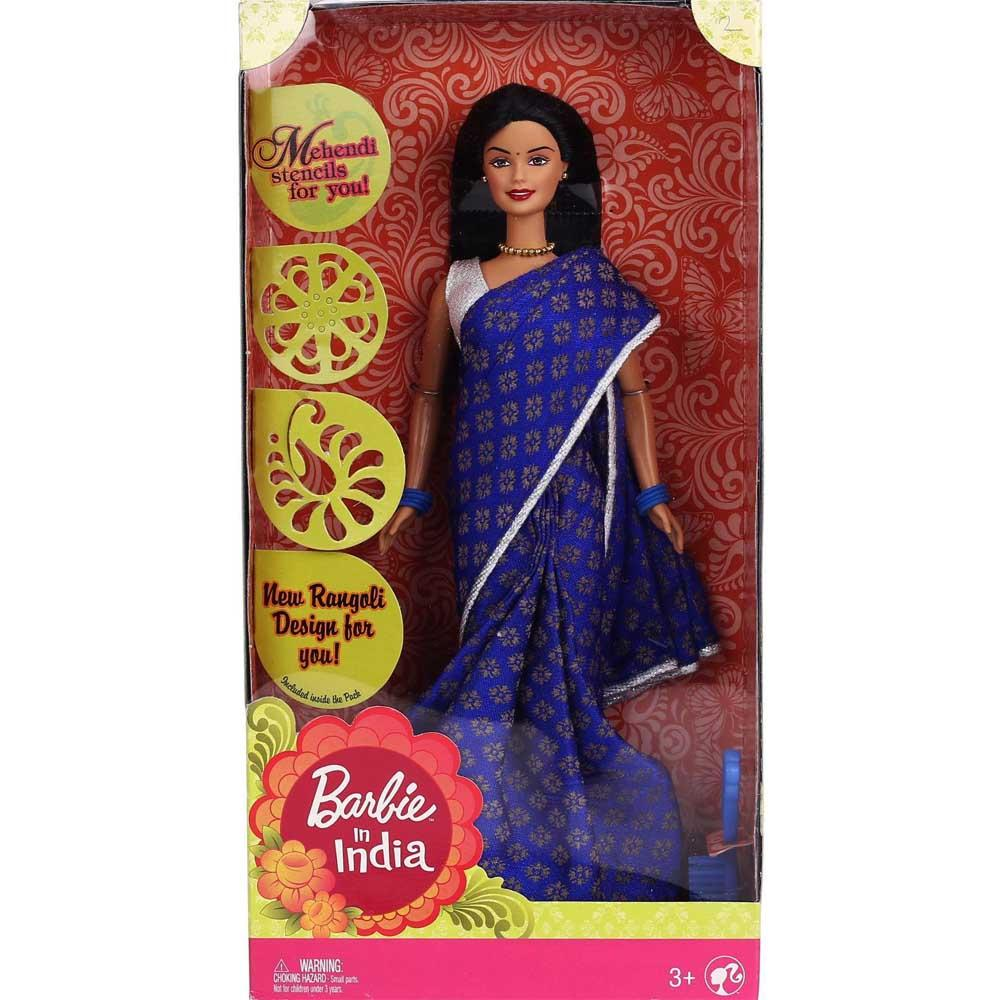Barbie in India, Blue Sari