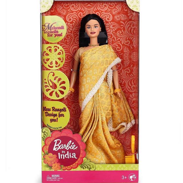 Barbie in India, Yellow Sari