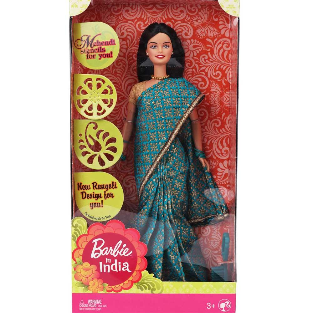 Barbie in India, Green Sari