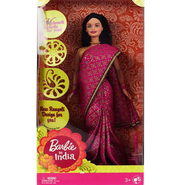 Barbie in India, Pink Sari