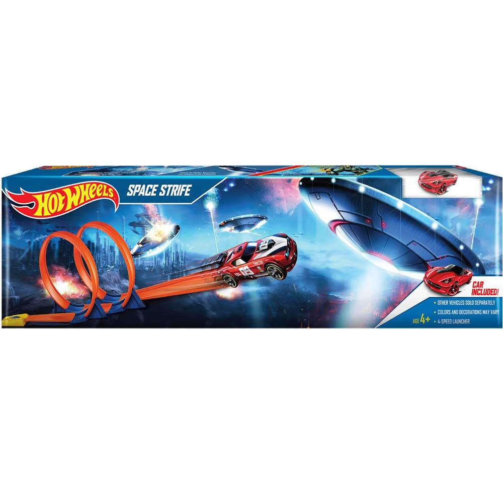 Hot Wheels Space Strife Playset, Multi Color