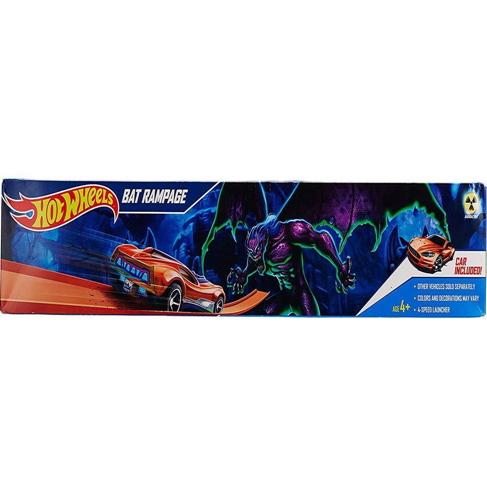 Hot Wheels Bat Rampage Playset, Multi Color