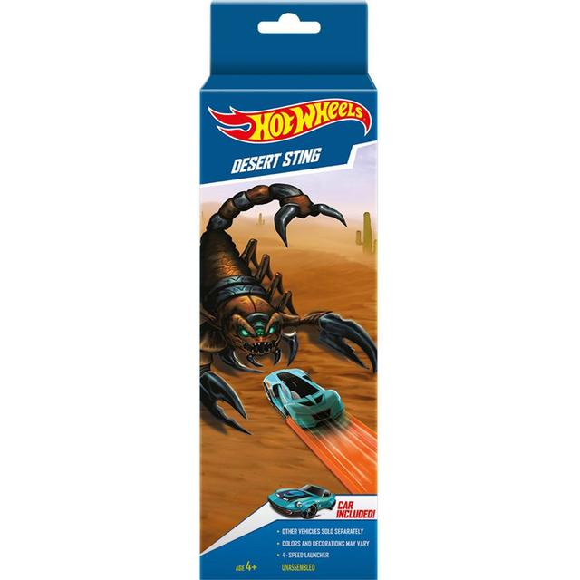 Hot Wheels Desert Sting Playset, Multi Color