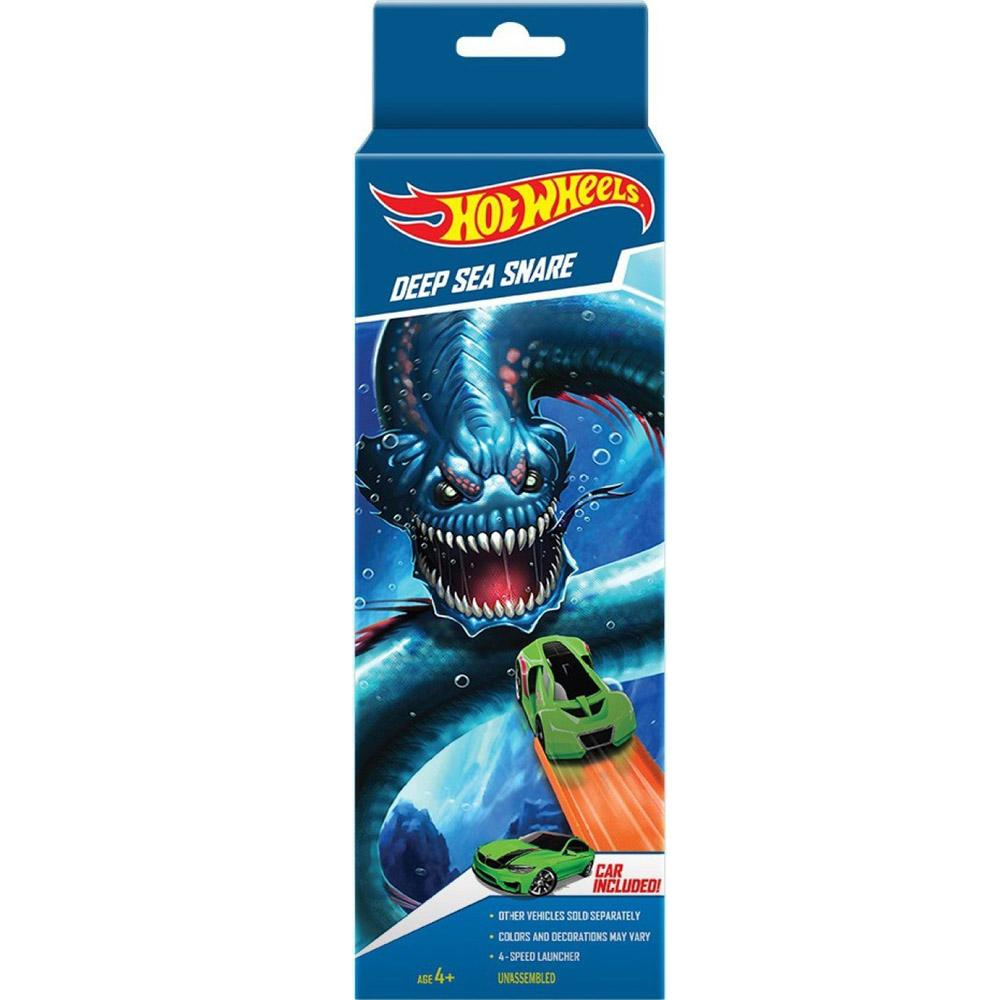 Hot Wheels Deep Sea Snare Playset, Multi Color