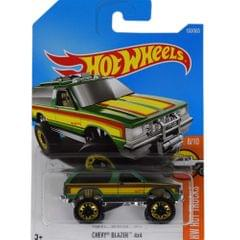 Hot Wheels Clip Strip Cars, Chevy Blazer 4x4 Multi Color