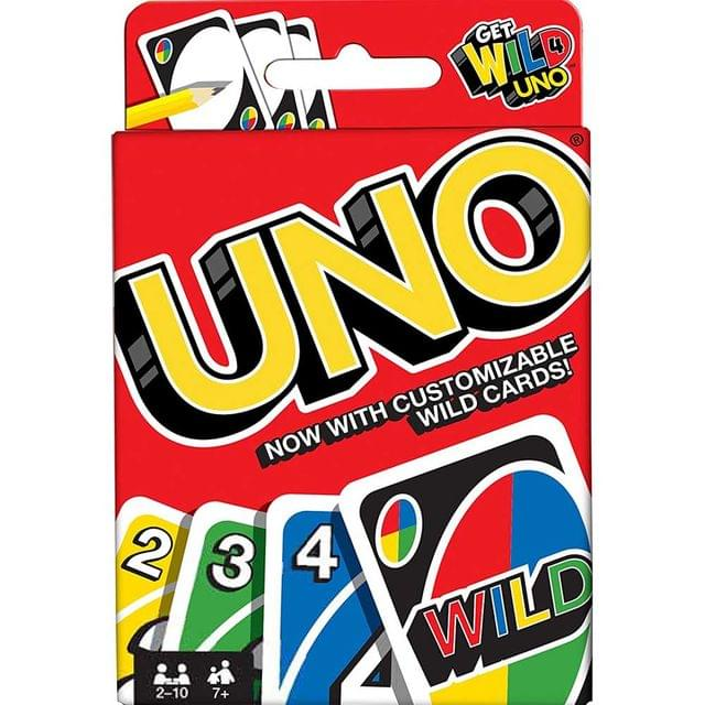 Mattel Uno Fast Fun Card Game