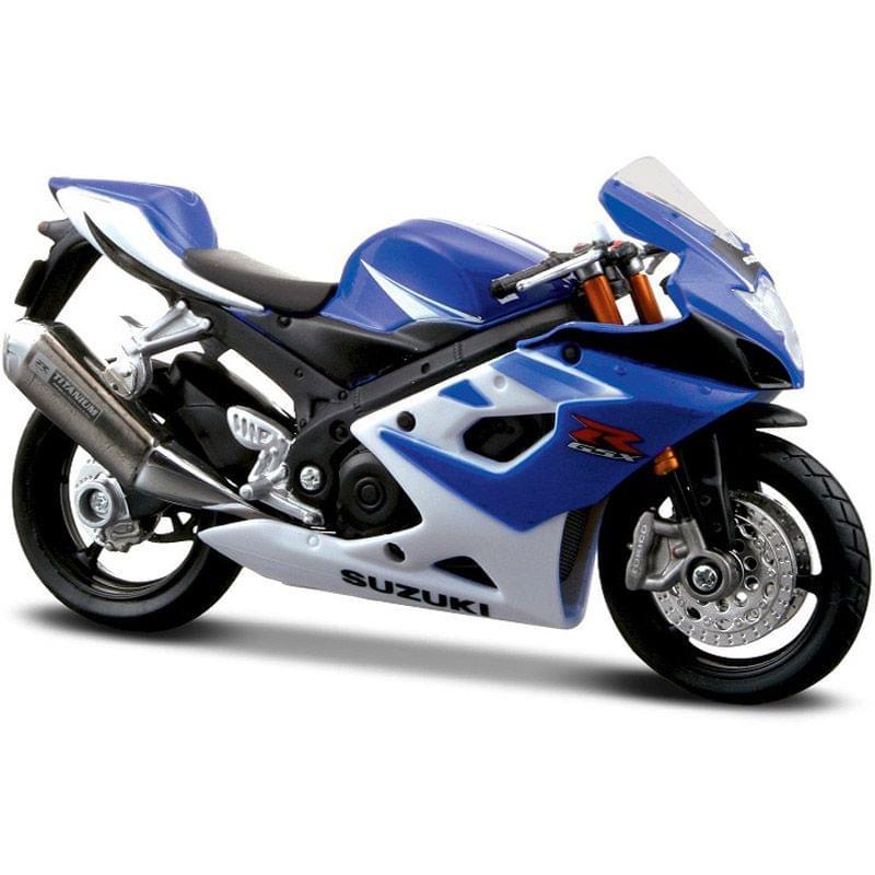 Maisto Suzuki GSX-R 1000 Motorcycle, 1:18 Scale Die Cast Metal