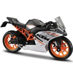 Maisto KTM RC 390 Motorcycle, 1:18 Scale Die Cast Metal