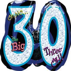 Planet Jashn Oh No! It'S My Birthday 30 , Multi Color