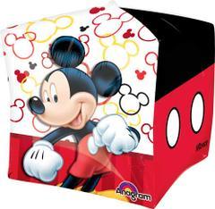 Planet Jashn Micky Mouse Cubez Foil Balloon Foil Balloon , Multi Color