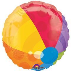 Planet Jashn Beach Ball 18 , Multi Color