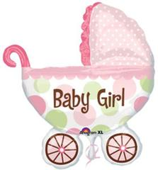 Planet Jashn Super Shape Baby Buggy Girl , Multi Color