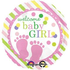 Planet Jashn Welcome Baby Feet Girl , Multi Color