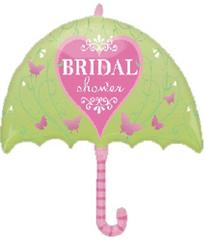Planet Jashn Bridal Shower Umbrella , Multi Color