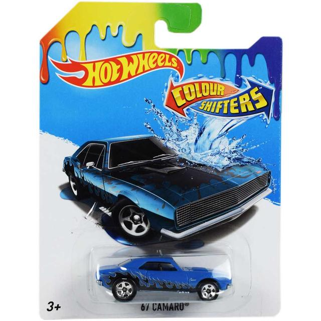 Hot Wheels 1:64 Color Shifters, 67 Camaro Car Multi Color