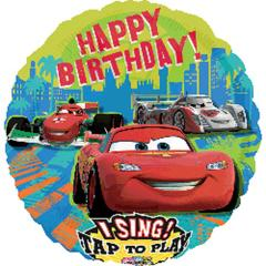 Planet Jashn 28C Stab: Cars Group Birthday Foil Balloon, Multi Color
