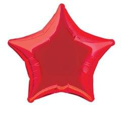 Planet Jashn Metallic Red Stars 19 Inch Foil Balloon, Multi Color