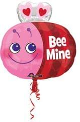 Planet Jashn Cute Bee Standard Foil Balloon, Multi Color