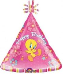 Planet Jashn Tweety Birthday Foil Balloon, Multi Color