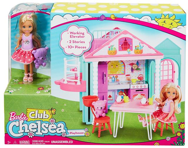 Barbie Club Chelsea Playhouse, Multi Color
