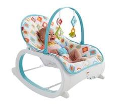 Fisher Price Infant to Toddler Rocker Geo Diamonds, Multi Color