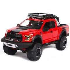 Maisto 2017 Ford F 150 Raptor Red Color, 1:24 Scale Die Cast Metal Collectable Model