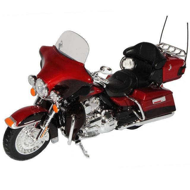 Maisto Harley Davidson Motorcycle 2013 FLHTK Electra Glide Ultra Edition, 1:12 Scale Die Cast Metal