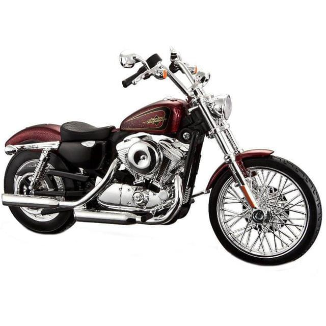 Maisto Harley Davidson Motorcycle 2012 XL 1200V Seventy Two, 1:12 Scale Die Cast Metal