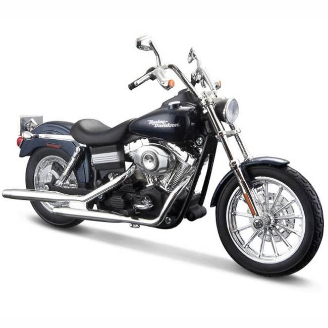 Maisto Harley Davidson Motorcycle 2006 FXDBI Dyna Street Bob, 1:12 Scale Die Cast Metal